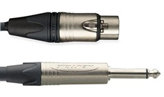 Microphone Cable ( Balanced) ,XLR Mate/Female '' Neutrik''