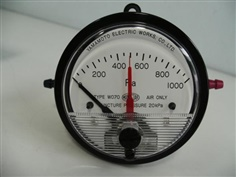 MANOSTAR Micro Differential Pressure Gauge WO70FV1000D