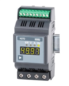 Rail mounted 1-phase power network meter N27D - NEW