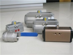 With low price solenoid valve pneumatic actuator,AT series rotary pneumatic valv