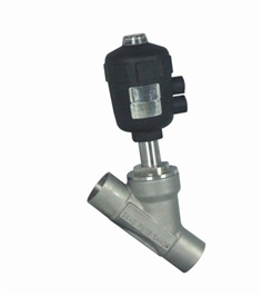 Y-Type stainless steel Angle valve