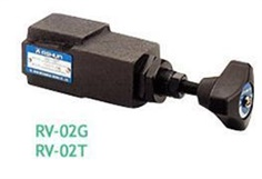 ASHUN RV-02G / RV-02T Series - DIRECT TYPE RELIEF VALVES