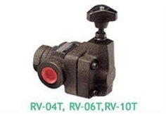 ASHUN - PILOT OPERATED RELIEF VALVES RV-04T, RV-06T,RV-10T