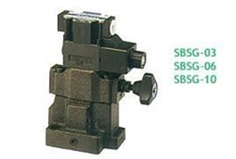 ASHUN SBSG  Series - LOW NOISE TYPE SOLENOID CONTROLLED RELIEF VALVES