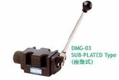 ASHUN DMG Series - MANUALLY OPERATED DIRECTIONAL VALVE