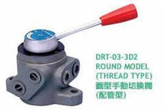 ASHUN DRT Series - MANUALLY OPERATED DIRECTIONAL VALVE