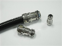 Cable gland for plasitc hose