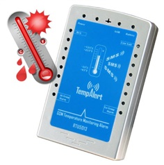 SMS  Temp Monitoring Alarm