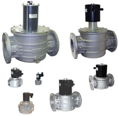 "Gas Solenoid valve size 1/2"", size 3/4"",size 1"", size 1-1/2"""