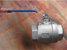 1000wog 2pc threaded ball valve