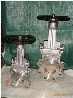 stainless steel Wafer Type Knife Gate Valve With Pneumatic Actuator