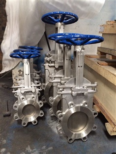 Knife Gate Valve Manufacturers Flange Stainless & Carbon Steel