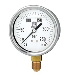 Liquid Filled Pressure Gauge : MGS10 - DS63