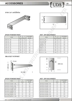 Accesories for Cable Ladder & Cable Tray