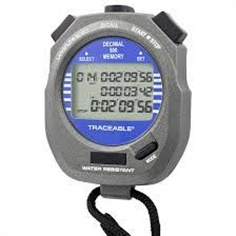 Control Company : Traceable 1031 Decimal Digital Alarm Stopwatch which times