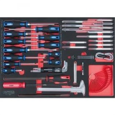 Screwdriver and Measuring instrument set, 41 pcs,1/1 system insert