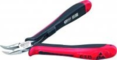 ESD Long-nose pliers-Curved-without cut