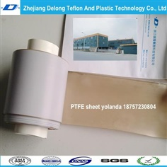ptfe sodium etched sheet for plaste