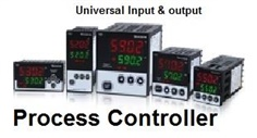 Temperature controller,control value,program step controller