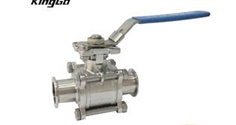 3PC 316 Clamped Ends Ball Valves 1000WOG 316 Ball Valve