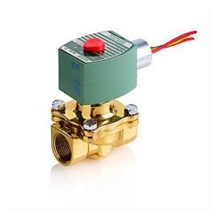 """Hot Water, Normally Closed 3/8"""" -3/4"""" ASCO 8210HW Series"""