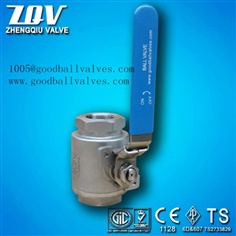 WCB,A105,CF8,304SS casting and forged steel ball valve