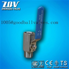 1 PC stainless steel maleXfemale ball valve