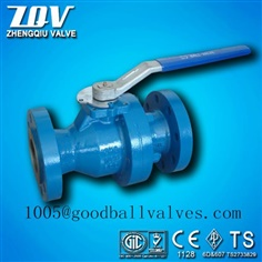 API6D 2PC FLANGED END BALL VALVE of 150LB 300LB 600LB 2500LB