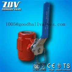 high pressure oil-field ball valve with 6000PSI