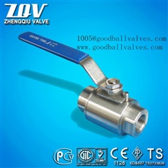 Ball Valve with 2,000psi Working Pressure and Locking Device