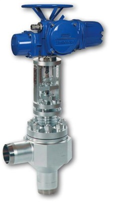 Control valves ZK with radial stage nozzle