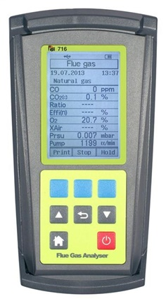 716 Flue Gas Analyzer