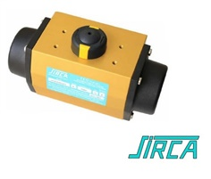 """SIRCA"" PNEUMATIC ROTARY ACTUATORS หัวขับลม"