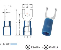 VINYL-INSULATED TERMINALS (V SERIES)