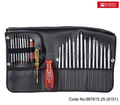 667615 Assembly screwdriver set &Allrounder& 25 pieces