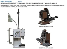 se-automatic terminals crimping machine /mould.mold