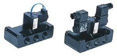 5 Port Pilot Operated Solenoid Valve PHS540D