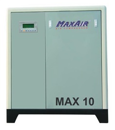 Maxair screw air compressor
