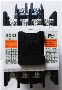 MANETIC CONTACTOR  SC-03