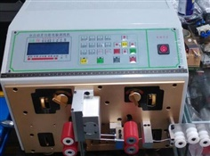 Double wire cutting stripping machine KK-01