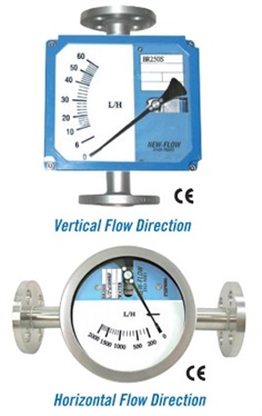 BR250S Metal Tube Flow meter (Spring Type)