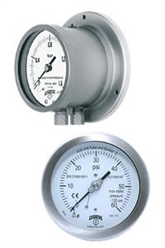 Winters PAD Bourdon Tube Differential Gauge