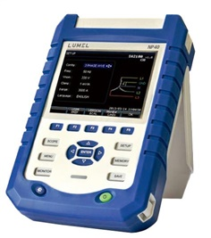 NP40 - Portable power quality analyzer