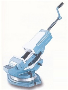 TILTING HYDRAULIC MACHINE VISE (VERTEX)