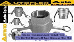 Camlock Coupling D Type :Stainless Steel304