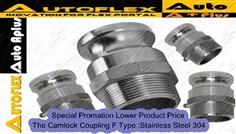Camlock Coupling F Type :Stainless Steel304
