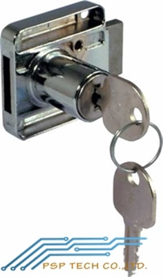 HAFELE Rim lock, ? 18 mm cylinder, 26 mm backset