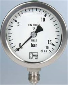Pressure Gauge 0-2000 Bar/29000 psi