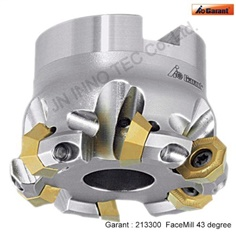43degree indexable face mill Octo