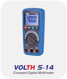 Compact Digital Multimeter (VOLTH S-14)